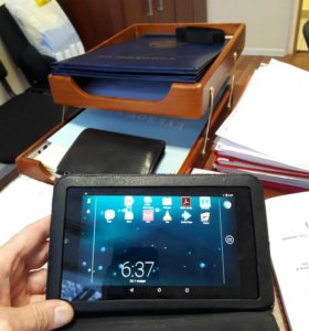 Планшет Google Nexus 7 +кожаный чехол.