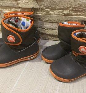 Кроксы сапоги и сандали