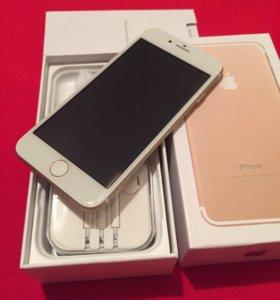 iPhone 7 128gb gold копия, новый