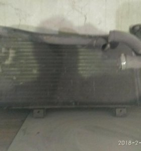 Радиатор охлаждения на НИВУ