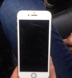 iPhone 6 64 Gb gold без таяв