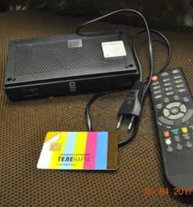 Спутниковый ресивер для Телекарты Globo X80