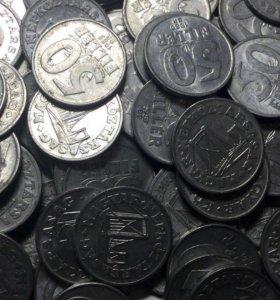10 шт монет Венгрия из кучи