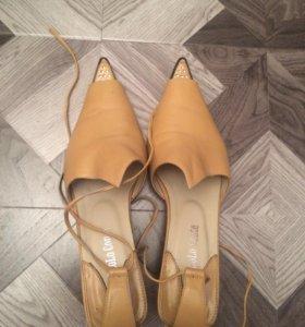 СРОЧНО❗️НОВЫЕ кожаные босоножки туфли женские