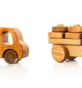 Деревянные машинки