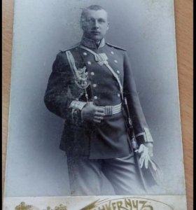 Офицер РИА, Штабс Капитан с орденом и медалью.