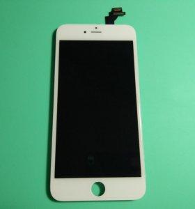 IPhone 6 Plus White Белый Экран LCD Модуль