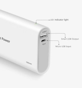 Power bank внешний аккумулятор 10000мАч