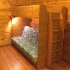 Диван-кровать двухярусный детский