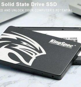 Жесткий диск SSD KINGSPEC 96 Гб SATA-3 2.5 дюймов