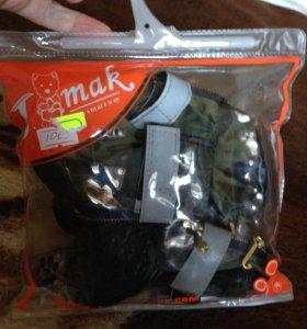новые сапожки для собаки М 4.4х6.4 см