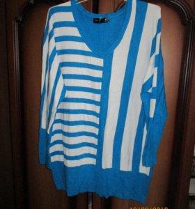 Пуловер для модниц 64-66 размера