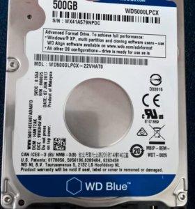 Новый жёсткий диск
