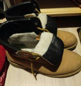 Timberland. Зимние ботинки 42-го размера.