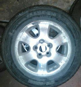 Комплект колес на Рав 4