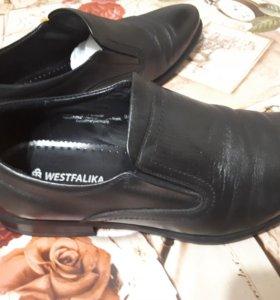 Туфли мужские нат.кожа