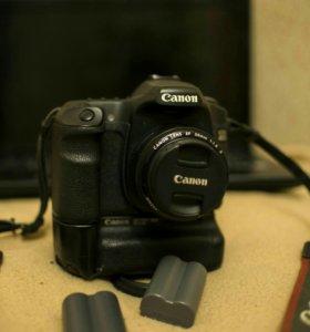 canon 40d + 50mm 1.8