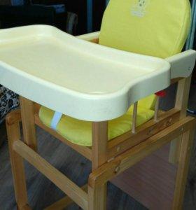 Стульчик-стол для кормления Globex Мишутка