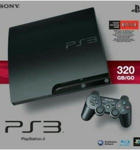 Продам PlayStation 3 , 320GB + игра в подарок!