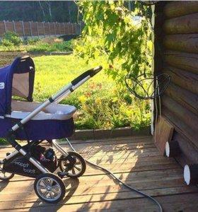 Коляска Happy Baby Little Traveller 2 в 1
