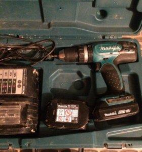 DHP453 Дрель аккумуляторная, ударная.