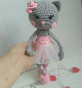 Арина-балерина, кукла ручной работы