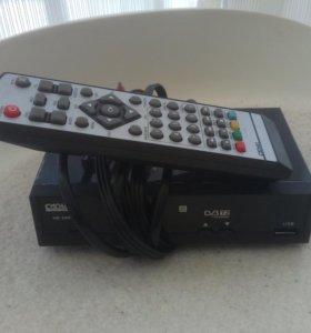 Приставка для цифрового телевидения DVB T2