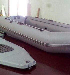 Надувная лодка ПВХ FLINC FT290LA Мотор Пуля 3.6