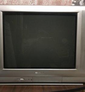 Телевизор Sharp цветной 52 см