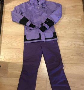 Горнолыжный костюм куртка спортивная