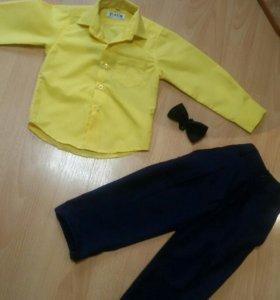 Детский костюм. Рубашка брюки