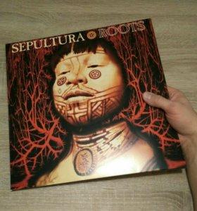 Винил Sepultura - Roots 2LP переиздание Новый