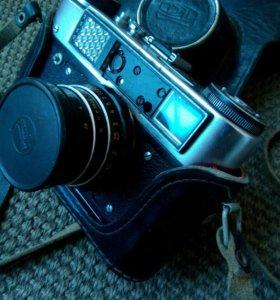 Фотоаппарат фед 5с и фотоэкспонометр ленинград 8