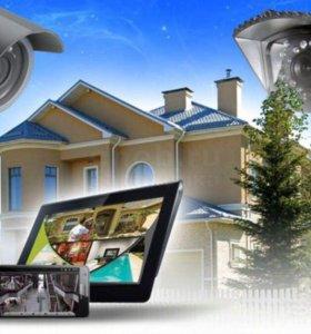Новый комплект уличного видеонаблюдения