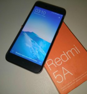 Xiaomi Redmi 5A Global (2/16, Gray), новый