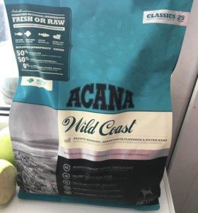 Корм для собак мелких пород  (акана) 2кг