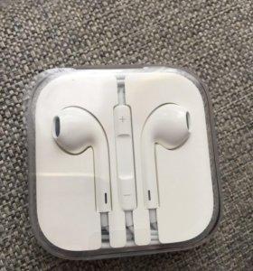 Продам наушники EarPods новые оригинал