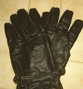Перчатки Chevignon тёмно-коричневые