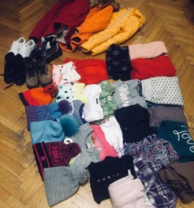 Пакет одежды для девочки 42-44