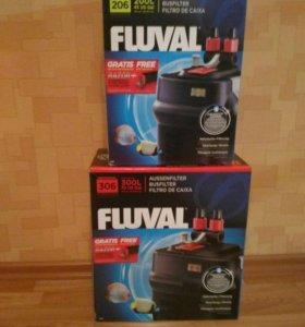Фильтр внешний Fluval 206 и Fluval 306.