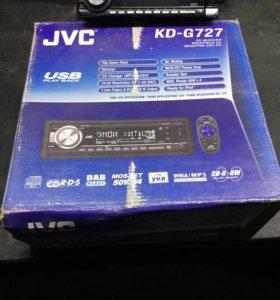 Магнитола JVC KD-G727