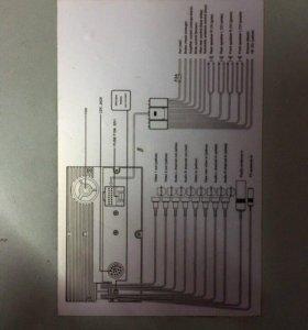 Магнитола Sony 2din сенсорная