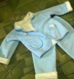 Флисовые костюмы на 1-2г