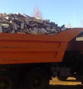 Продам дрова горбыль 6 тон