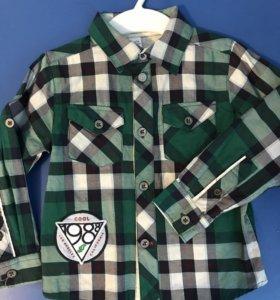 Новая Рубашка из Глории Джинс на 1,5-3 года