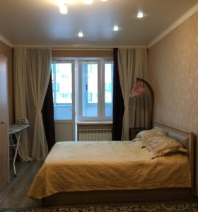 Квартира, 1 комната, 45.3 м²