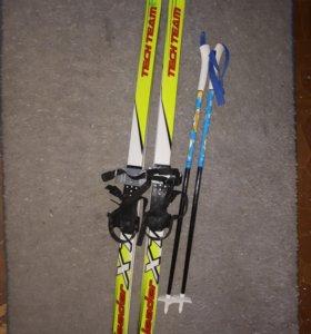 Лыжи детские 120 см
