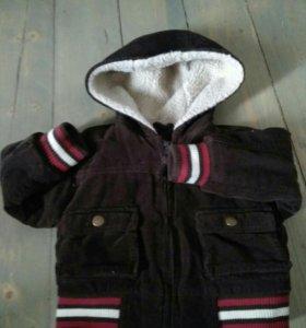 Демисезонная куртка на 6-9мес