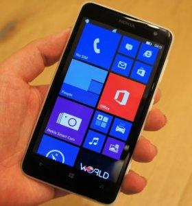 "Nokia Lumia 625 LTE (2ядра/0.5Гб/8Гб/5Мп/4.5"")"