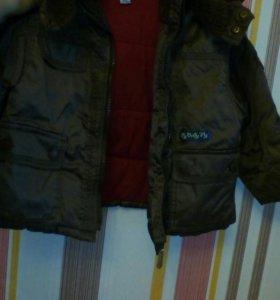 Детская курточка (унисекс) осень-весна